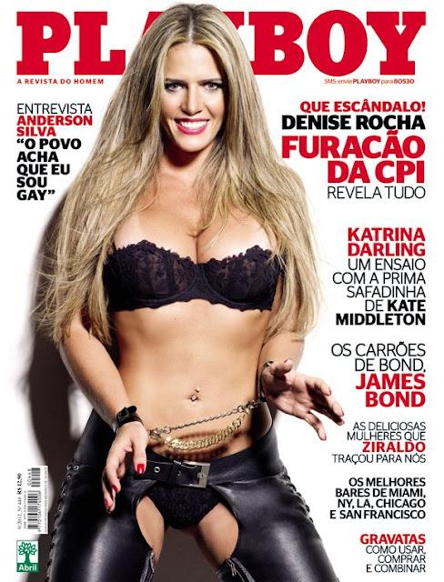 Veja As Fotos Da Denise Rocha Pelada Na Playboy De Setembro O
