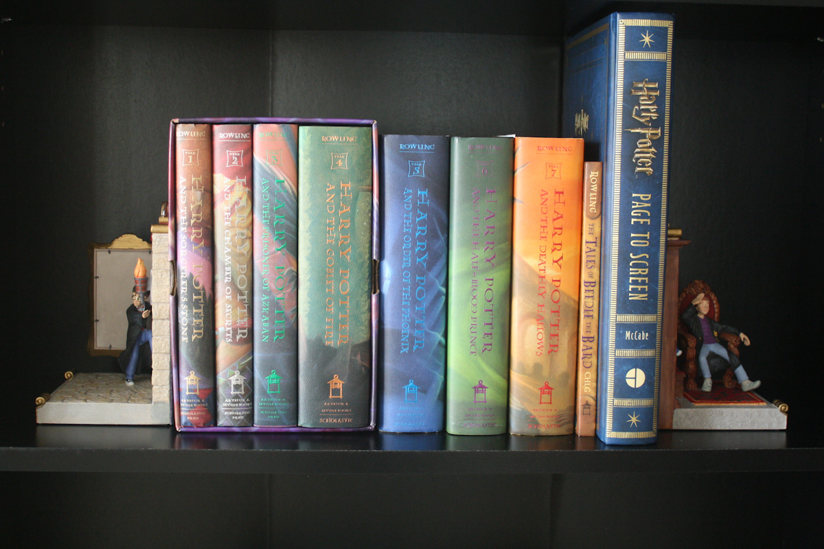 Id Love To Know Who Else Feels The Need Put Their HP Books And All Things Related On Own Separate Bookshelf Even When I Only Owned Box