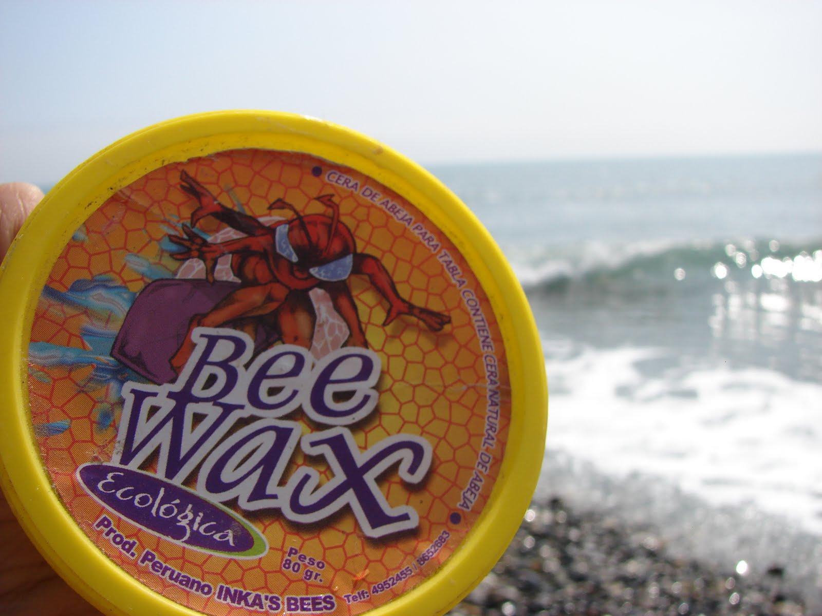 3-marzo-4-5-6-7....2012...BEE WAX cera 100005 Peruana , SURF,BODYBOARD,SKATE,sec.ufo..