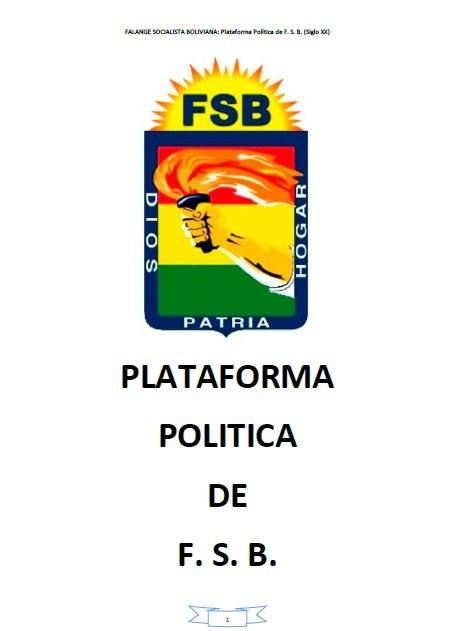 Plataforma Política FSB
