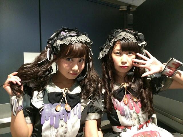 AKB48 Shibata Aya & Takayanagi Akane Halloween Night 01