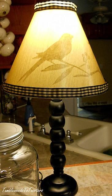 peek-a-boo lampshade