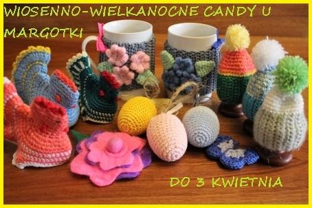 Wiosenno-wielkanocne candy u Margotki