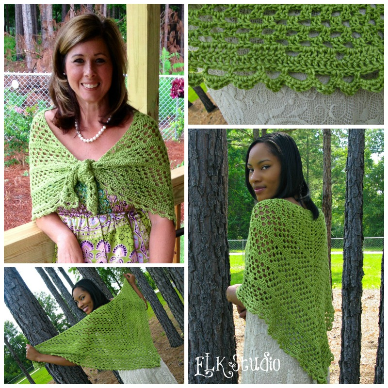 Fiber Flux: 16 Summer Weight Scarves and Shawls