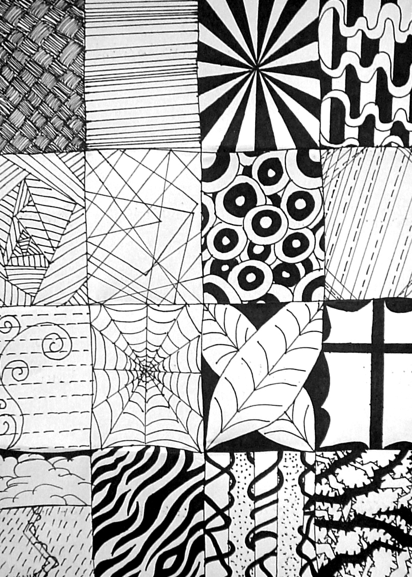 Line Art Patterns : Line designs