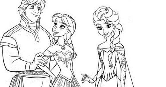 Free Printable Walt Disney Characters Frozen Family Elsa