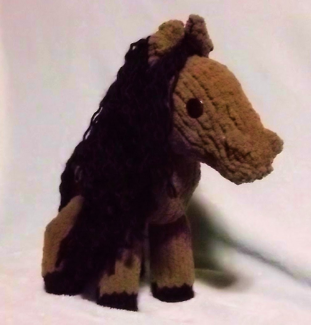 The Loom Muse : How to Loom Knit a Horse