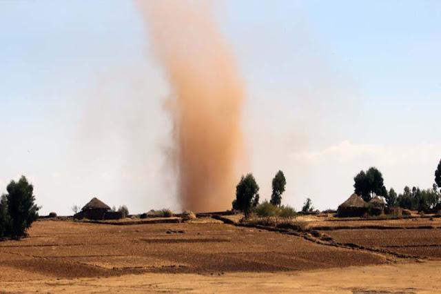 Dust devil Ethiopia