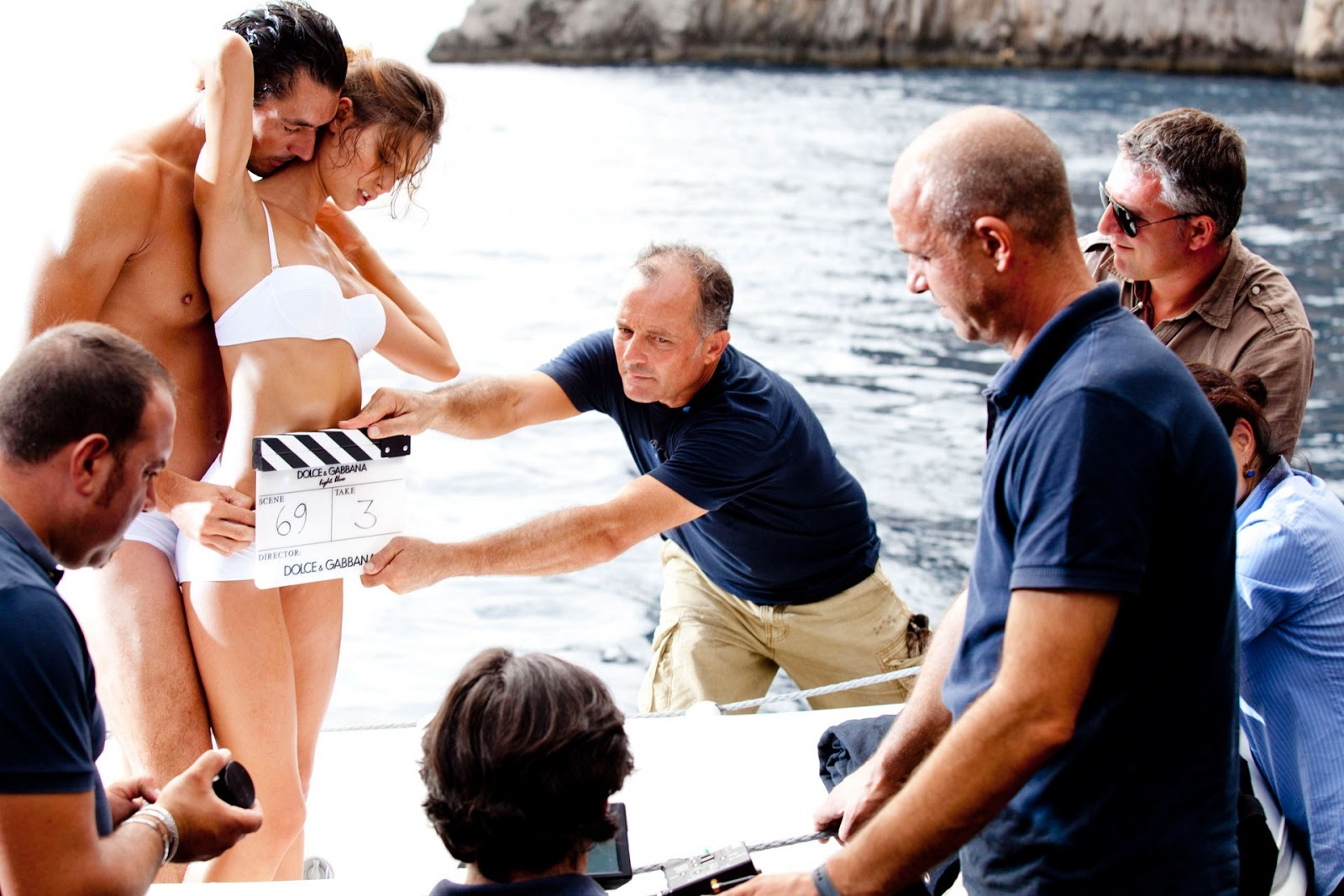 Behind the scene dolce gabbana light blue fragrance campaign behind the scene dolce gabbana light blue fragrance campaign david gandy bianca balti by mario testino mozeypictures Images