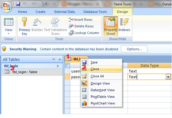 creating forms in access 2007 pdf