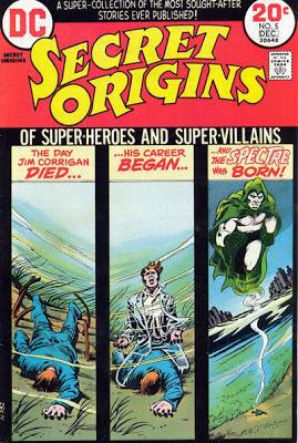 Secret Origins #5, the Spectre