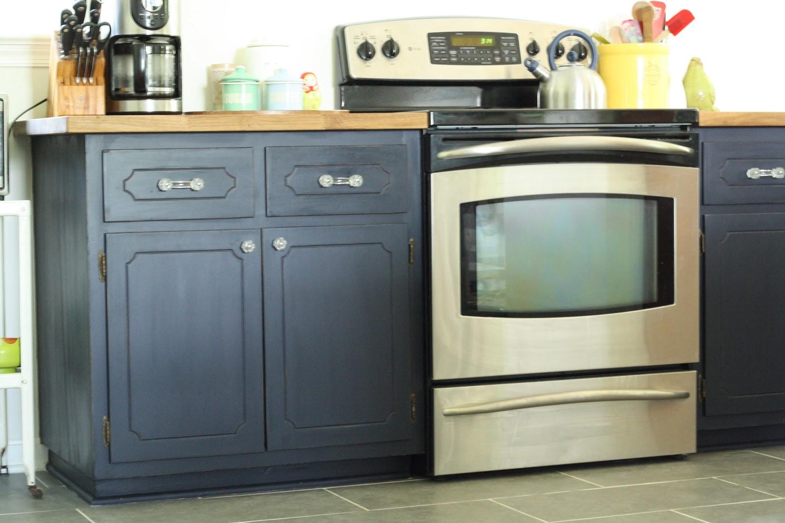 coastal blue painted kitchen cabinets. Black Bedroom Furniture Sets. Home Design Ideas