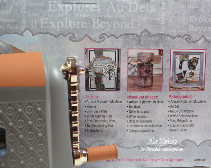 Ophelia S Adornments Blog May 2012: Embellished Dreams: NEW Spellbinders™ Artisan X-plorer