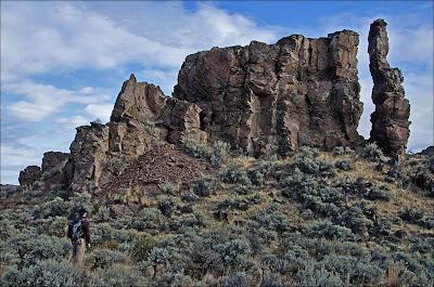 Basalt column.
