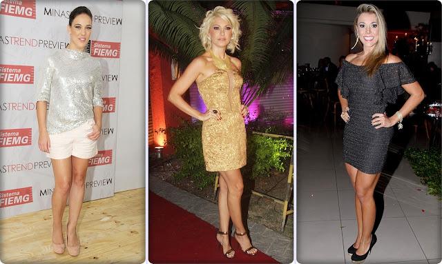 Algumas famosas marcaram a semana com looks ousados e fashionistas