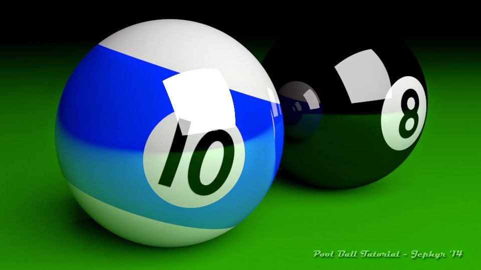 Pool Ball Tutorial Image One:  Jephyr 2014