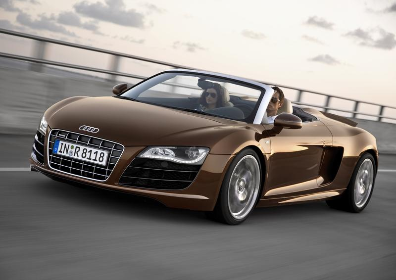 Wallpaper Mobil Sports Audi R8 Spyder