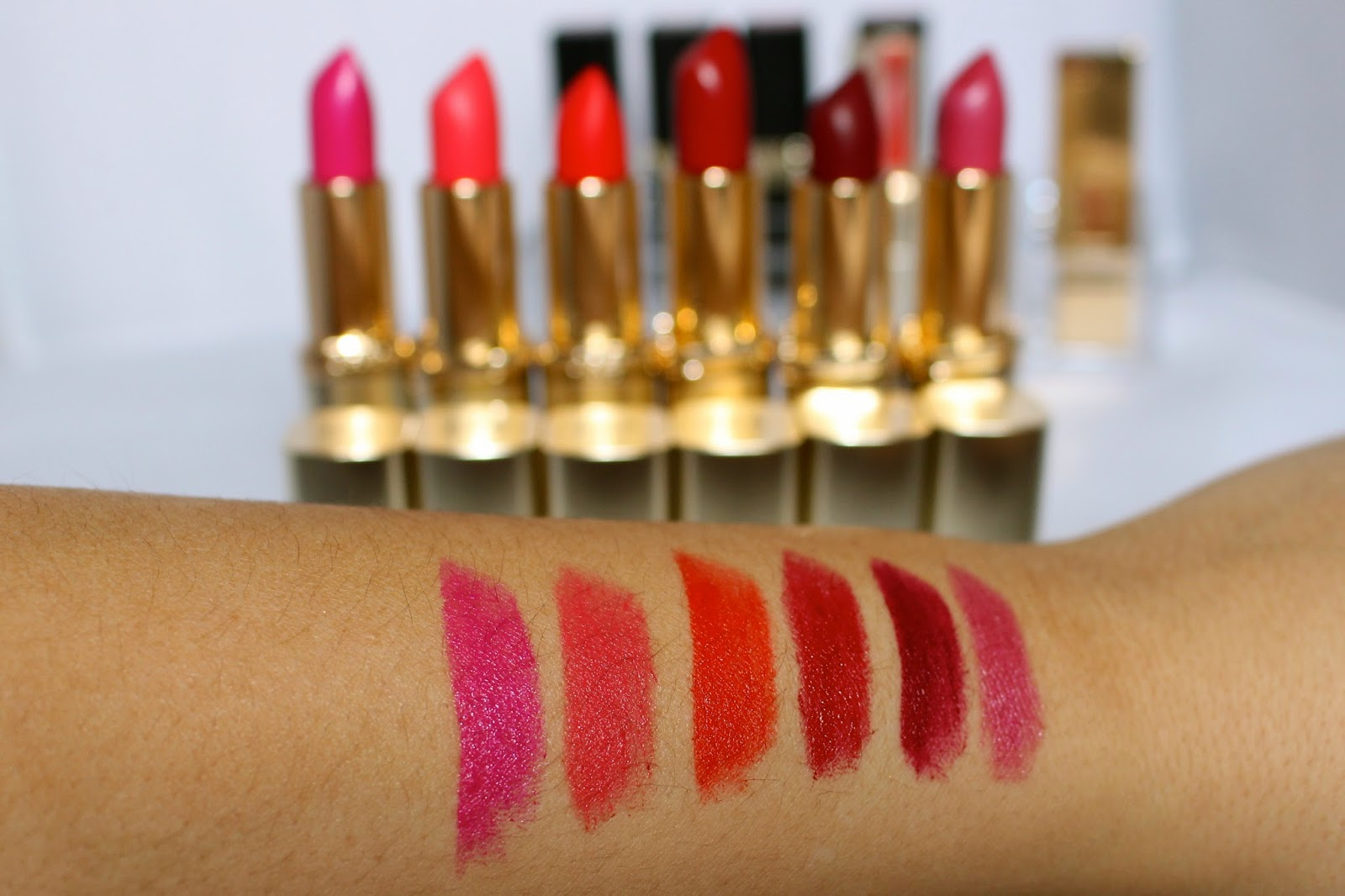 Colour riche swatches