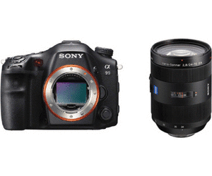 Sony Alpha A99 DSLT camera, full frame camera