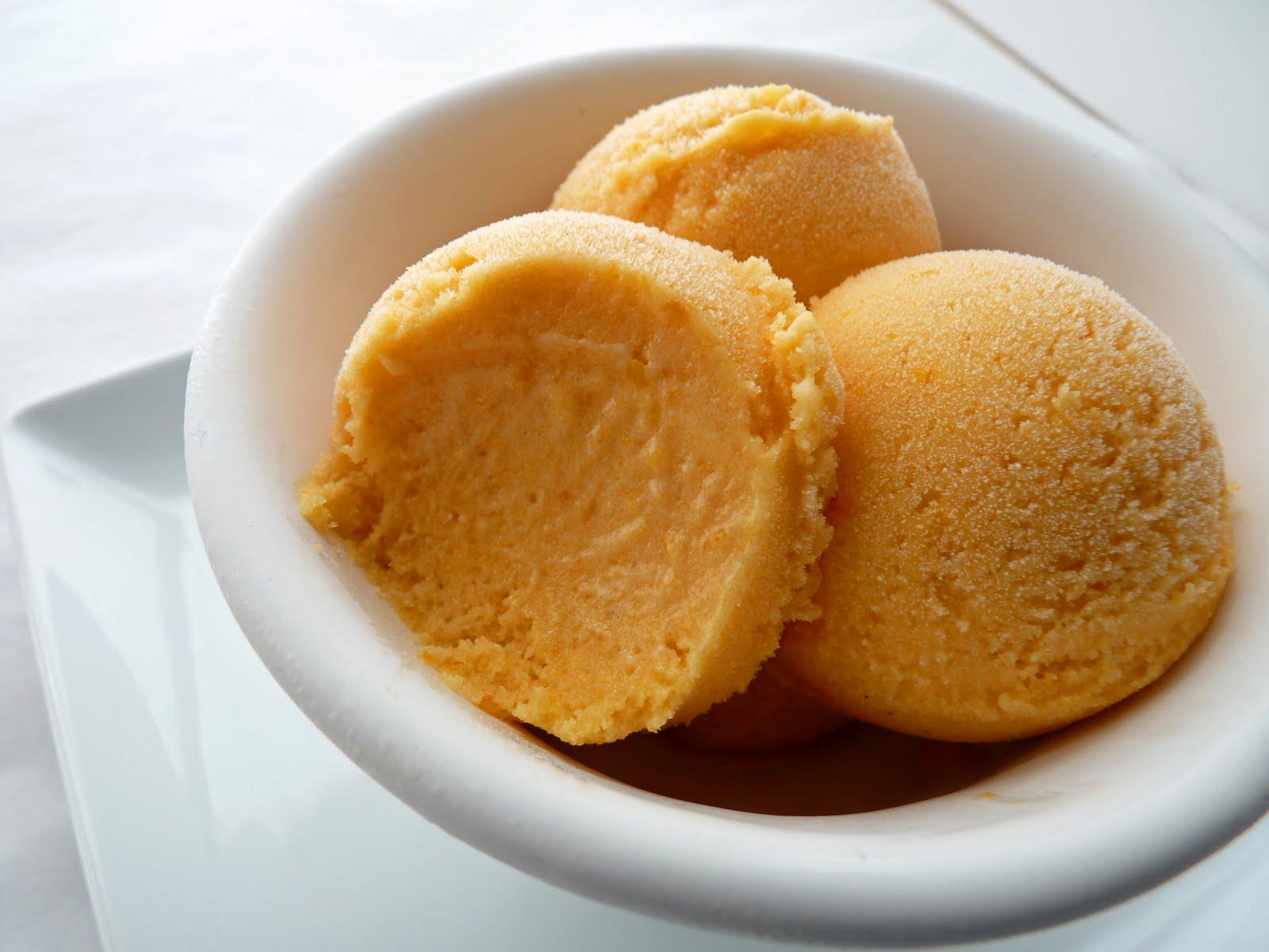:pastry studio: Apricot Ice Cream