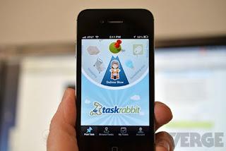 Tasrabbit app ios náhled