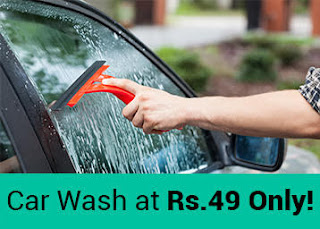Urbanclap : Get Complete Car wash at Rs.99 only For Bangalore user