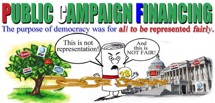 the issue of financing campaigns in the united states The campaign finance division of the secretary of state's office contains  information on campaign finance search and disclosure.