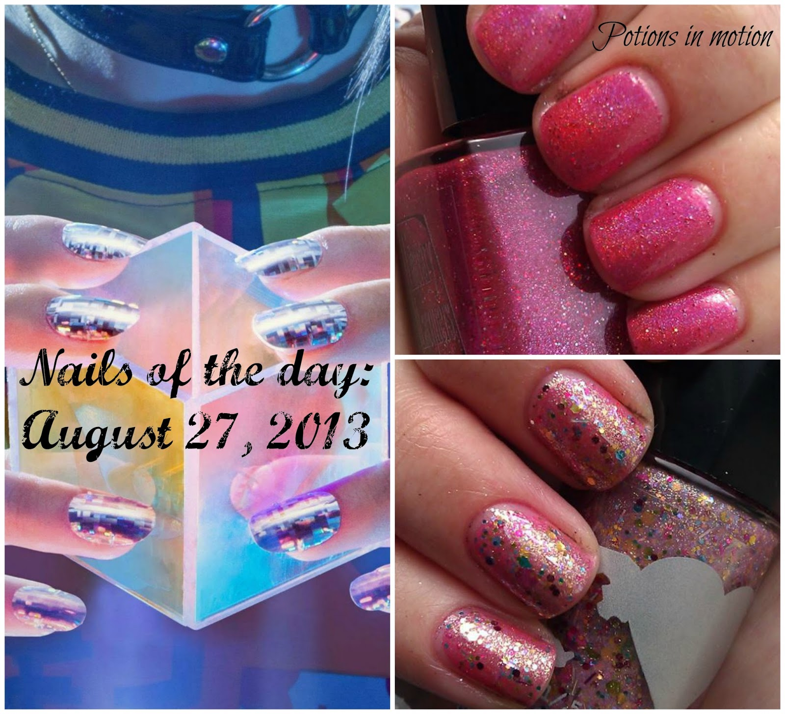 Potions In Motion Nail Blog Nails Of The Day August 27 2013 Frnd Cosmetics Uptown Girl Set I Took A Small Break Yesterday Having My Sort Put Me Creative Funk Then Got Lovely Package Mail From Reddit Friend