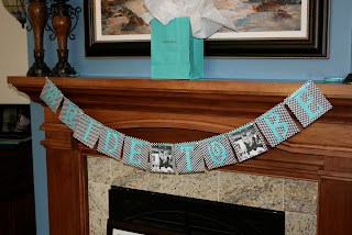Breakfast at Tiffany bridal shower decor, bride ot be banner