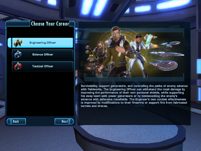 Star Trek Online - Choosing Career