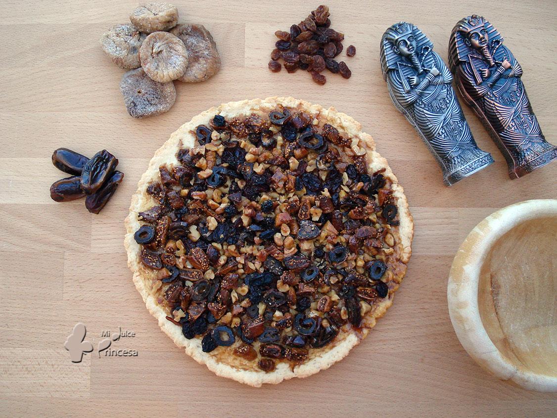 egipto, frutos secos, maskina, miel, postre egipcio, torta, receta egipcia, antiguo egipto,