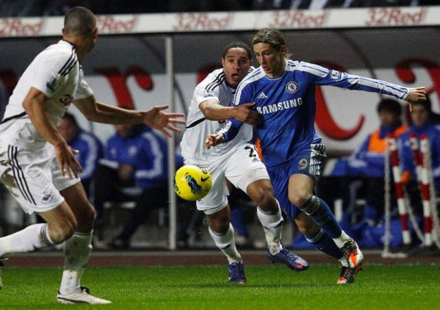 Prediksi Skor Swansea City vs Chelsea 3 November 2012