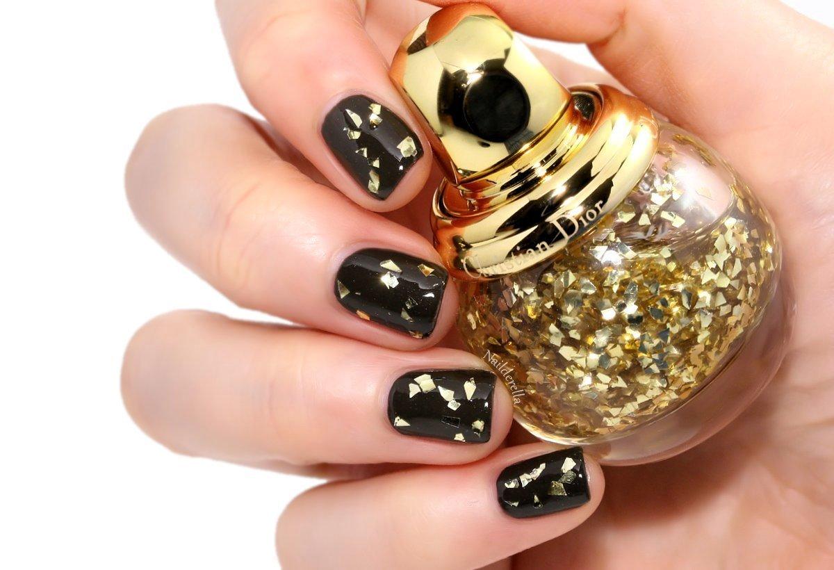 Αποτέλεσμα εικόνας για silver  leaf manicure