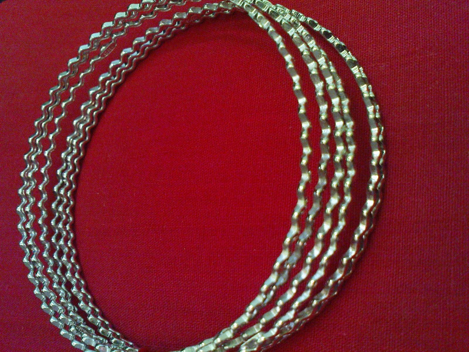 Jual Perhiasan Perak Berlapis White Gold Dan Emas MODEL