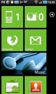 Aplikasi Launcher 7 Untuk Ponsel Android