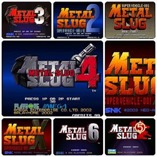 Free download Metal slug all version