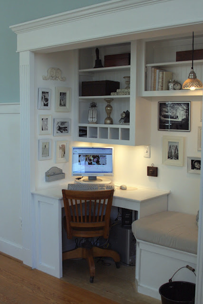 Benita loca blog - Construire un bureau d angle ...
