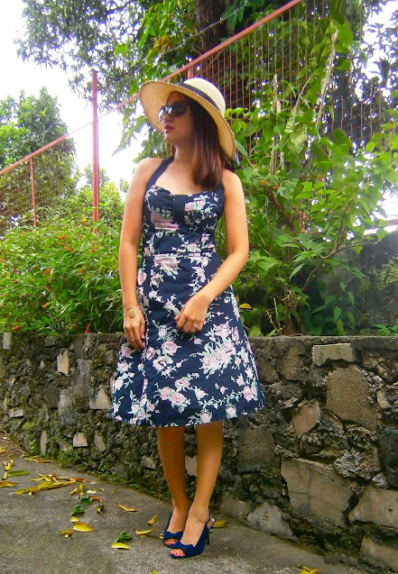H&M sweetheart top dress