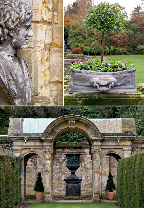 Psynopsis Hever Castle Kent United Kingdom Collage