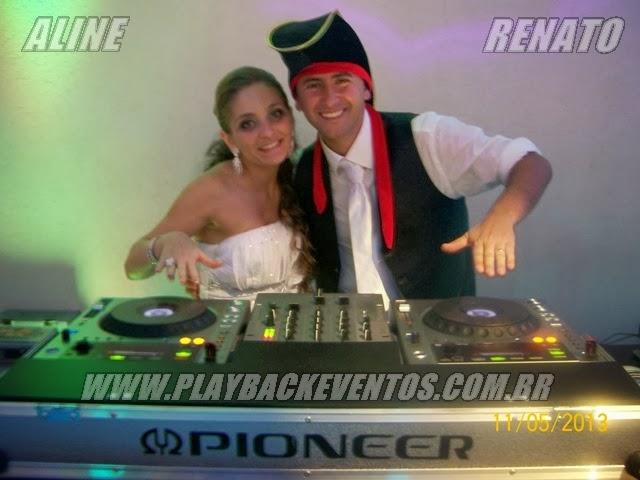 Aline e Renato Casamento