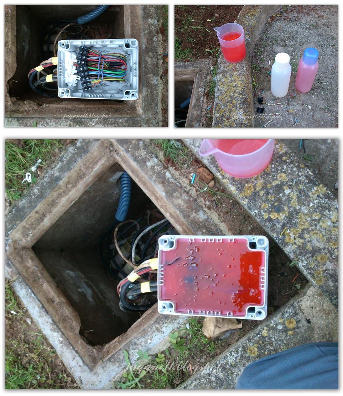 Saneando la instalaci n de un jard n - Cable electrico para exterior ...