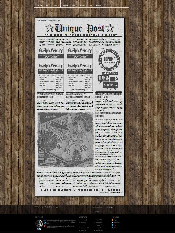 Dokumentasi koran