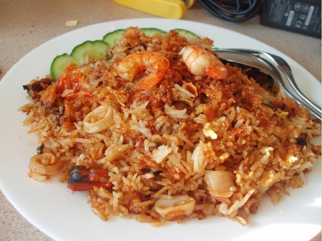 Bahan Nasi Goreng Seafood