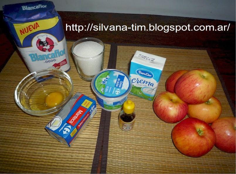 tarta de manzanas - ingredientes