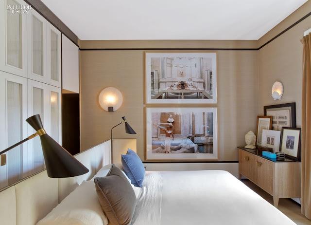 Elegante Einrichtung einer Wohnung im italienischen Design - Wohnen mit neutralen Farben mit goldenen und schwarzen Akzenten