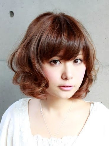 rambut pendek curly