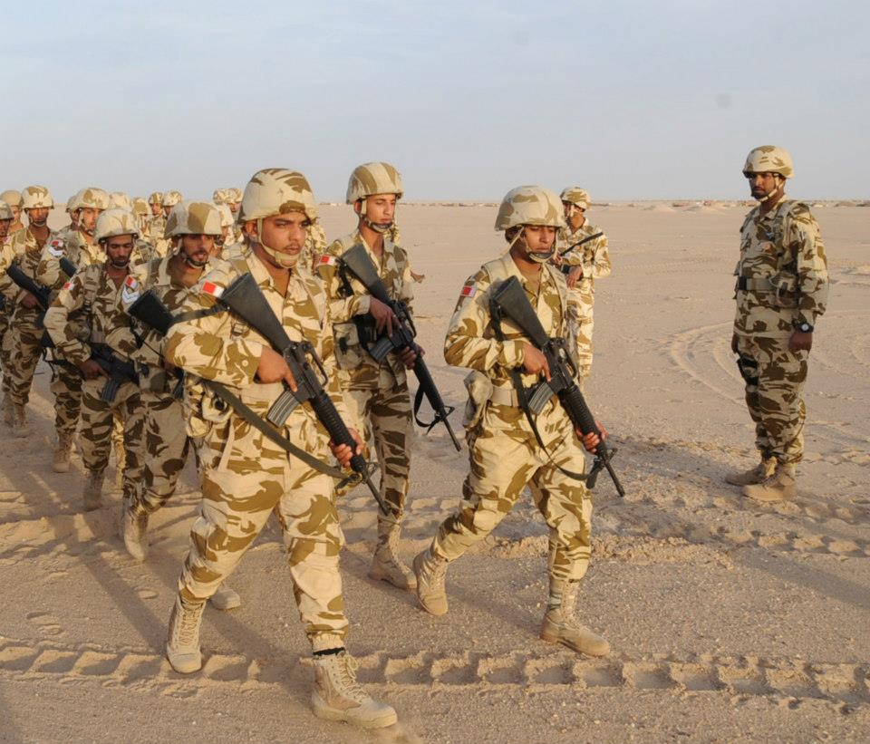 World Military and Police Forces: Bahrain