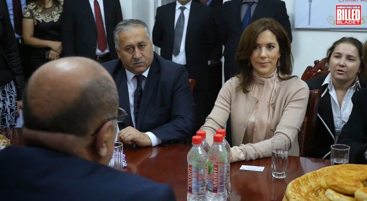 Princess Mary of Denmark visits Tajikistan