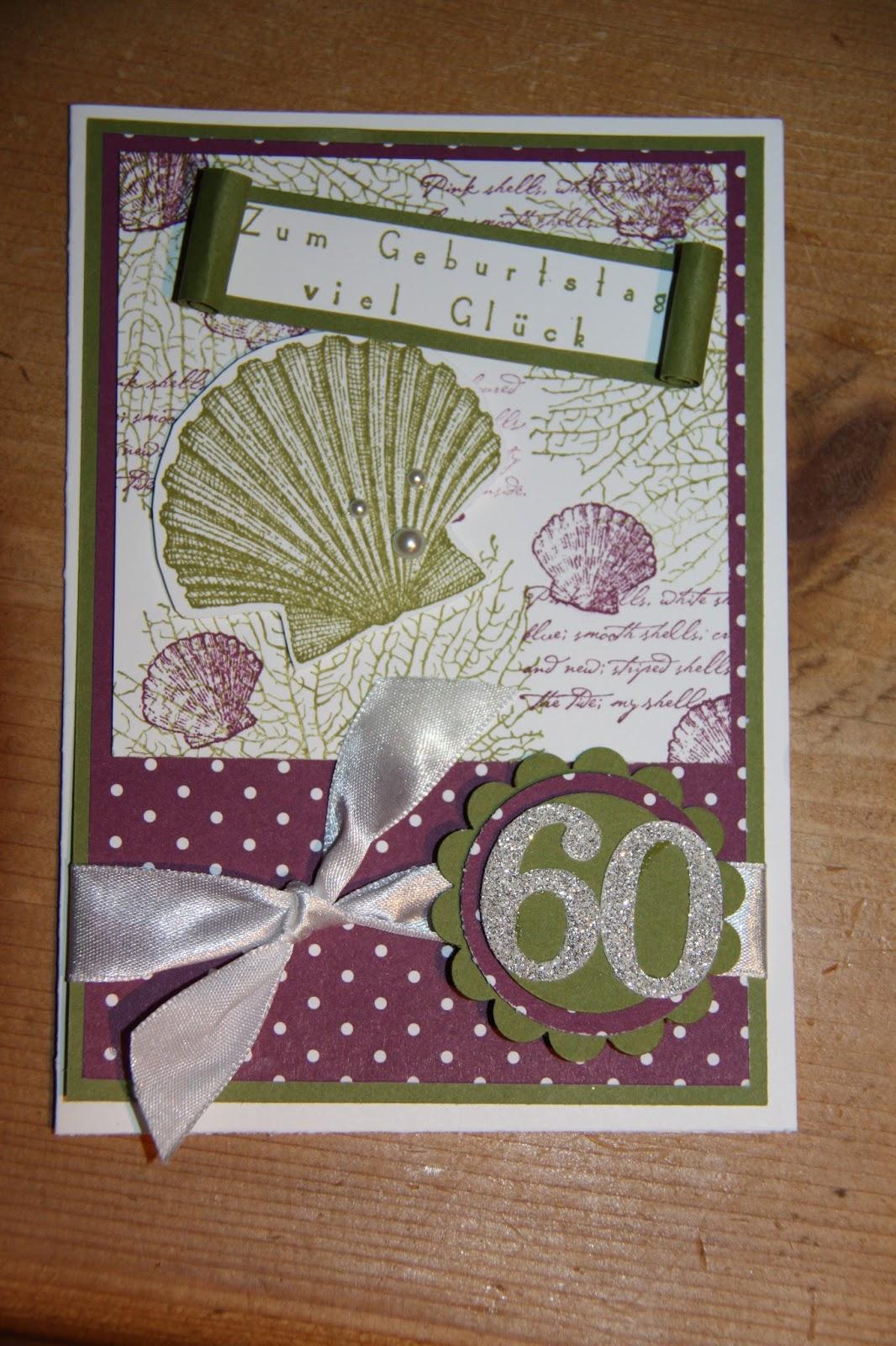 derstempelvogel: Geburtstagskarte 60. Geburtstag ...