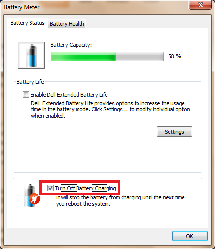 windows 8 how to change low battery warning